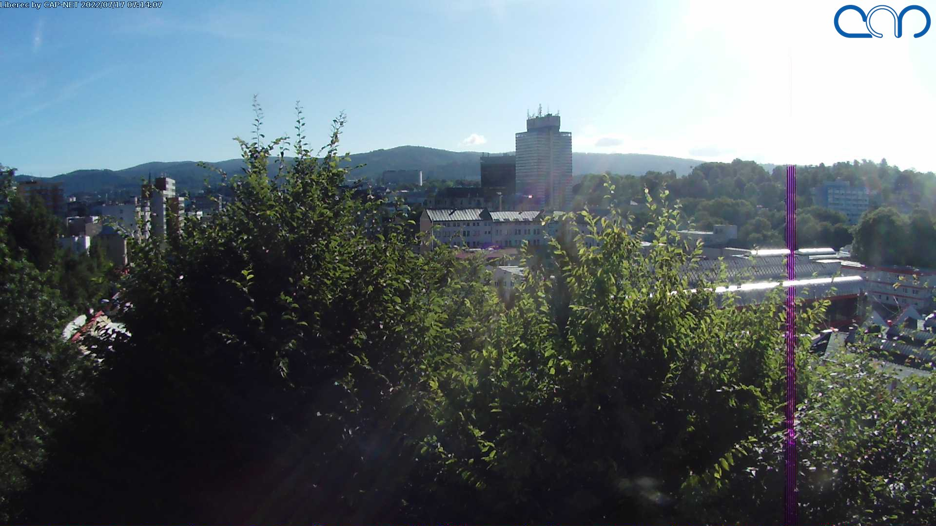 Webcam Skigebiet Liberec Ort - Isergebirge