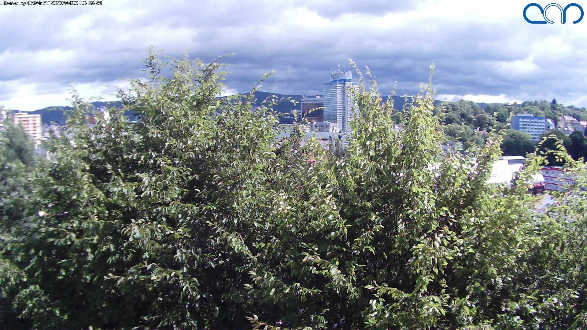 Webcam Ski Resort Liberec Ort - Jizera Mountains
